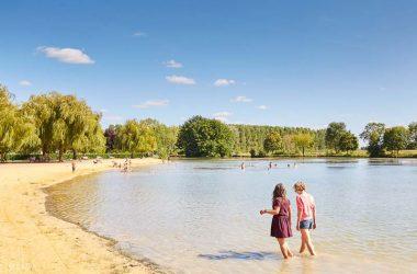 Camping municipal Le Capitaine – Plan d'eau de Bourgueil